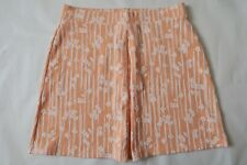 Women`s Next Skirts Peach Floral Size 10,12