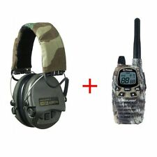 COMBINADO AURICULARES SUPREME PRO-X IMPERMEABLE + RADIO MIDLAND G7