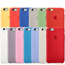APPLE COVER CUSTODIA PER IPHONE 6 6S SILICONE CASE ORIGINALE NUOVA