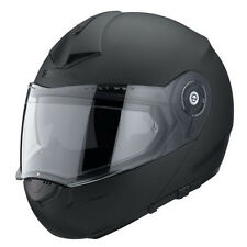 Schuberth C3 PRO NEGRO MATE PLEGABLE DELANTERO Up Touring Casco de Motocicleta