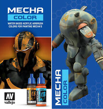 Vallejo Mecha Color Choose From Full Range of High Resistance Gundam Paints