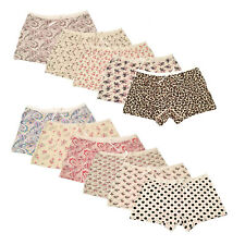 2 X Ladies Underwear Knickers Briefs Paisley Dots Panties Boxer Boy shorts