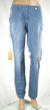 Jeans Donna Pantaloni MET Made in Italy Regular Fit Woman Trousers C544 Tg 27