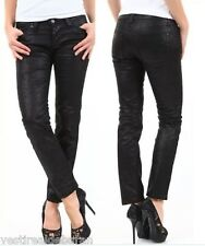 Jeans Donna Pantaloni SEXY WOMAN Effetto Lucido Made in Italy A614 Tg L