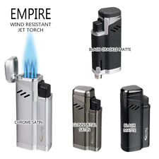 Vector KGM Empire Quadruple Jet-Torch Lighter  - All Colors, Free FAST Shipping