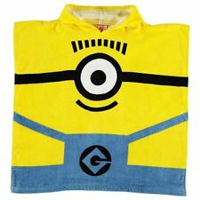 DESPICABLE ME: MINIONS PONCHO HOODED TOWEL,NEW WITH TAGS