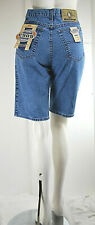 Jeans Corti Donna Shorts Bermuda Pantaloni E905 Made in Italy D492 Tg 29 30