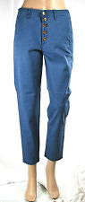 Jeans Donna Pantaloni MET Made in Italy Regular Fit Trousers C527 Tg.27 veste 28