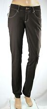 Pantaloni Donna Jeans MET Regular Fit Made in Italy Trousers C329 Tg 27