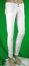 Jeans Donna Pantaloni MET  Made in Italy Slim Fit Trousers C571 Tg 27 veste 26 *