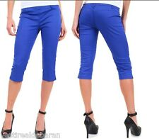 Pantaloni Capri Jeans Donna MISS MISS A554 Made in Italy Tg 44