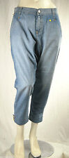 Jeans Donna Pantaloni MET Made in Italy Loose Fit Trousers C443 Tg 30 conformata
