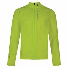 Dare2b Ensphere II Mens Waterproof Windshell Jacket Cycling Running High Viz