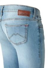 Mustang Gina Jeggins Damen Jeans, W26 -to- W31 / brushed bleached