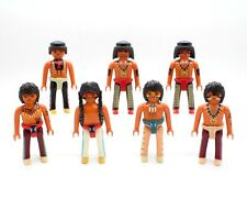 PLAYMOBIL INDIANI SIOUX APACHE SCOUT CAPO INDIANO 5245 5247 6272