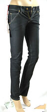 Jeans Donna Pantaloni MET Slim Fit Made in Italy Trousers C405 Tg 26 veste 25