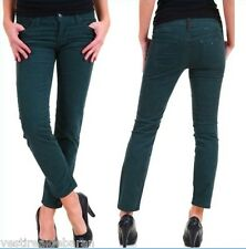 Jeans Donna Pantaloni Velluto SEXY WOMAN Made in Italy A586 Tg S veste XS/S