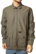 Camicia Carhartt WIP anson shirt jacket moor stone washed verde militare