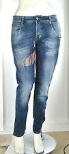 Jeans Donna Pantaloni MET Regular Fit Made in Italy SA091 Tg 27 29 veste 29 31