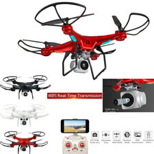 Wide Angle Lens 3MP HD Camera Quadcopter RC Drone WiFi FPV Live Helicopter Hover