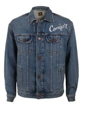 LEE UOMO GIACCA IN JEANS oversize Rider - Blu - CREPUSCOLO VINTAGE