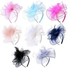DONNA PIUMA perline ALICE FASCIA CAPELLI Fascinator REALE Ascot