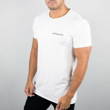 Fashion Mens Crossfit T-shirts Gym Training Workout Casual Tee Tops Bodybuilding