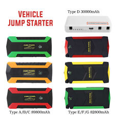 30000-82800mAh Car Jump Starter Booster Portable Battery Charger Power Bank LED