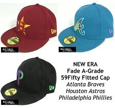 NEW ERA FADE A-GRADE MLB 59FIFTY FITTED CAP - ASTROS/BRAVES/PHILLIES