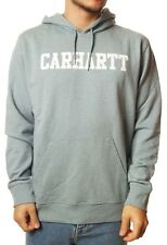 Sudadera con capucha Carhartt TRABAJO EN CURSO hooded college sweat dusty azul