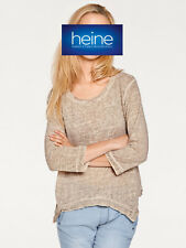 Pullover in asymetrischer Form B.C. Best Connections by heine. Sand. NEU!!!