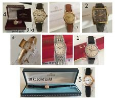 Orologio Watch OMEGA TISSOT 18KT  ETERNA ROTARY 9KT Lady Donna Women ++++