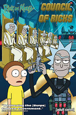 Rick and Morty - Council Of Ricks - Poster Plakat Druck - Größe 61x91,5 cm