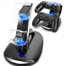 STAZIONE RICARICA CONTROLLER PS4 CARICABATTERIE DOCK DUALSHOCK 4 PLAYSTATION 4