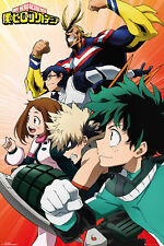 My Hero Academia - Heroes Coll - Filmposter TV-Serie - Poster - Größe 61x91,5 cm