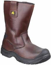 Amblers AS249 CADAIR S3 WP SRC brown Antistatic safety rigger boot & midsole