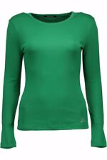 datch t-shirt donna datch donna t-shirt verde datch con manica lunga con col… 5