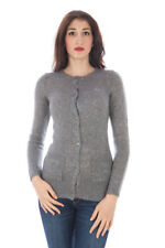 fred perry cardigan donna fred perry ;  donna cardigan grigio fred perry con sc