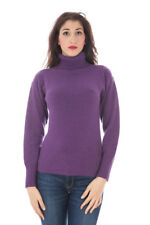 fred perry maglia donna fred perry ;  donna lupetto viola fred perry con manich