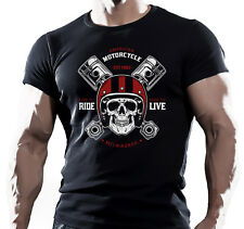 Milwaukee Motorcycle Club - Mens Motorbike T-Shirt Biker Motorcycles Bike