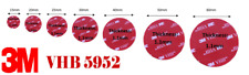 Double-Sided  ROUND 3M Self Adhesive extra strong Sticky Pads for Dash Cams