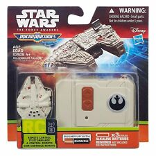 STAR WARS REMOTE CONTROL TOY MICRO MACHINES MILLENNIUM FALCON OR STAR DESTROYER!