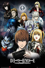 Death Note Rules - Collage - Anime Poster Plakat Druck - 61x91,5 cm