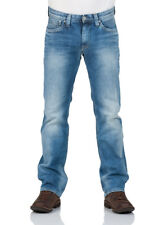 Pepe Jeans Herren Jeans Kingston Zip - Regular Fit - Blau  - Streaky Vintage Use
