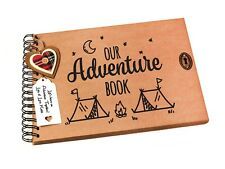 A4/A5 Our Adventure Book, Scrapbook, Camping Holiday Photo Album, Keepsake