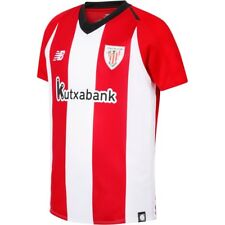 NEW BALANCE CAMISETA DE FÚTBOL OFICIALES NIÑO ATHLETIC CLUB BILBAO JR 2018-19 PR