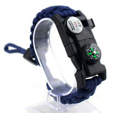 New 17 in 1 Camping Paracord Rope Multifunctional LED lights Survival bracialet