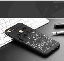 Xiaomi REDMI MI A1 -3D Curved Anti Shock Dragon Soft Silicon Back Case Cover.