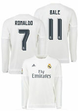 Real Madrid Adidas Maillot De Football Haut manches longues 2015 16