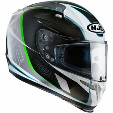 HJC CASCO INTEGRALE RPHA 10 plus cage MC1 Verde NUOVO